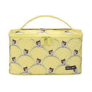 Paul & Joe Cosmetic Pouch II - Yellow Kitty