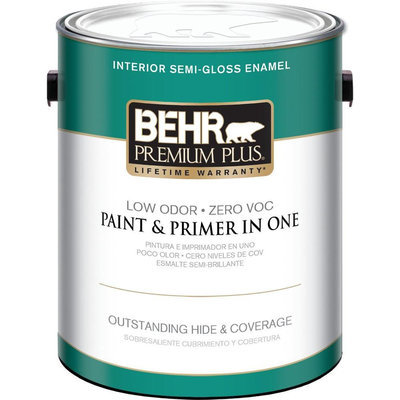 Superb Interior Paint, Exterior Paint U0026 Paint Samples: BEHR Premium Plus Paint  1 Gal