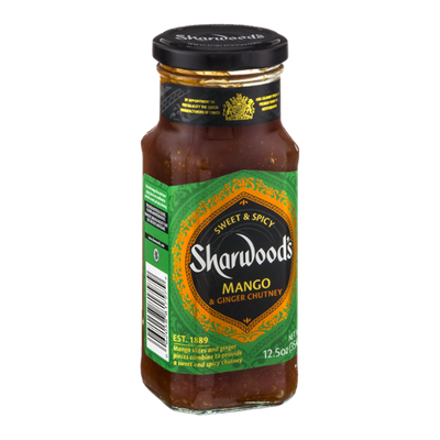 Sharwood's Mango & Ginger Chutney Sweet & Spicy