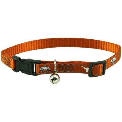 Pet Goods Mfg NCAA Cat Collar Team: University of Texas