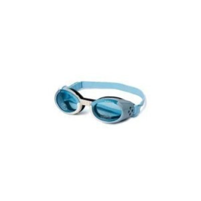 Doggles Dog Goggles ILS Ice Blue Frame / Blue Lens - Large