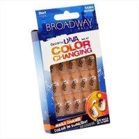 Kiss Product 54364 Broadway Fashion Diva Color Changing Nail Kit Short Length
