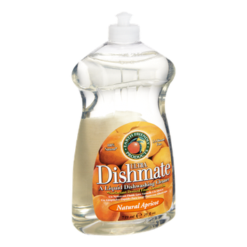 Earth Friendly Ultra Dishmate Natural Apricot Liquid Dishwashing Cleaner