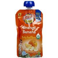 Earth's Best 2nd Foods Purees - Orange Banana - 4 oz - 6 pk