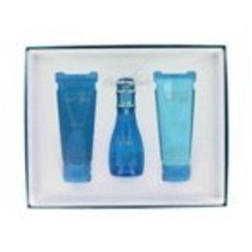 Davidoff Cool Water For Women 3 Piece Set - 1.7oz EDT, 2.5oz Body Lotion, 2.5oz Shower Gel