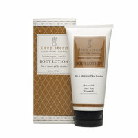 Deep Steep Organic Body Lotion, Brown Sugar Vanilla, 6 fl oz