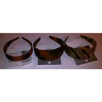Conair 3 SCUNCI PLASTIC HEADBANDS (3 TOTAL - STYLES - COLORS VARY)