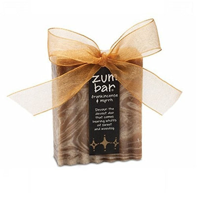 Indigo Wild - Holiday Bow Zum Bar Soap Frankincense and Myrrh - 3 oz.