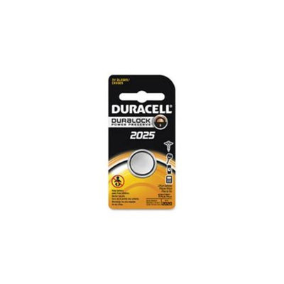 Duracell U.S.A. DURDL2025BPK Security Lithium Batteries, 3 Volt