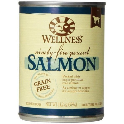 Wellness Natural Food for Pets Wellness Natural Grain Free Wet Canned Dog Food, 13.2-Ounce Can (Pack of 12)