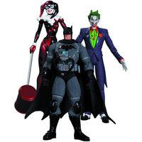 Diamond DC Collectibles Hush The Joker, Harley Quinn and Stealth Batman