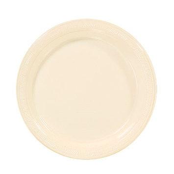 Hanna K Signature Hanna K. Signature 85770 7 in. Ivory Plastic Plate - 600 Per Case