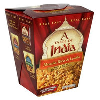 A Taste of India Masala Rice and Lentils, 6-Ounces (Pack of 6)