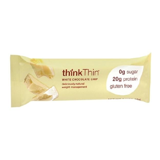 thinkThin White Chocolate Chip Protein Bar
