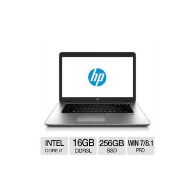 HP EliteBook 850 G1 Intel Core i7 16GB Memory 256GB SSD 15.6