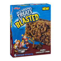Kellogg's Rice Krispies Treats Blasted Double Chocolatey Chunk - 6 CT