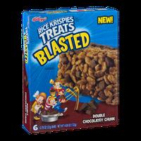 Kellogg's Rice Krispies Treats Blasted Double Chocolatey Chunk - 6 CT