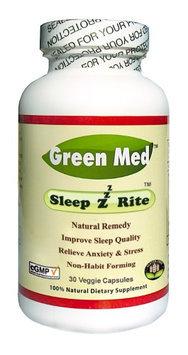 Green Med - SleepzRite - 30 Vegetarian Capsules LUCKY PRICE