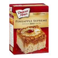 Duncan Hines Signature Cake Mix Pineapple Supreme