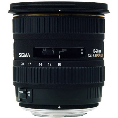 Sigma Corporation Sigma 10-20mm F4-5.6 EX DC HSM Pentax Lens
