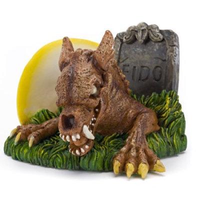 Penn Plax Zombie Werewolf Aquarium Ornament, 4.1 L X 0.9 W X 3 H