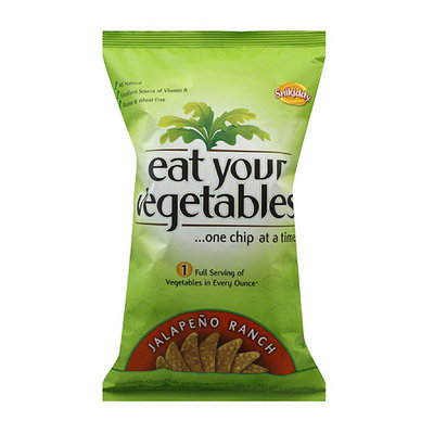 Snikiddy Eat Your Vegetables Jalapeno Ranch Chips