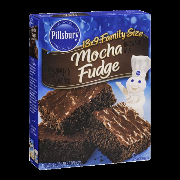 Pillsbury 13 x 9 Family Size Brownie Mix Mocha Fudge