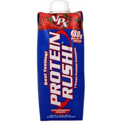 Vpx Protein Rush, Cookies & Cream, 17fl. oz. (Pack of 12)