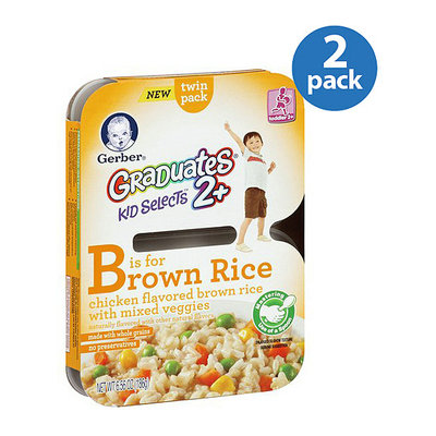 Gerber Graduates Kid Selects 2+ Chicken Flavored Brown Rice with Mixed Vegetables