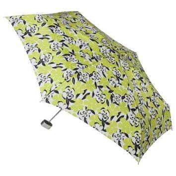 Totes Floral Umbrella - Green