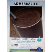 Herbalife Formula 1 Instant Healthy Meal Nutritional Shake Mix CREAMY CHOCOLATE Packets