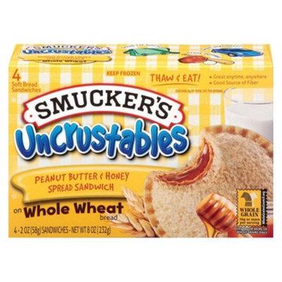 Smucker s SMUCKERS 8OZ PNUT BUTR & HONEY