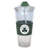 Boelter Brands NBA 2 Pack Boston Celtics No Spill Straw Tumbler -