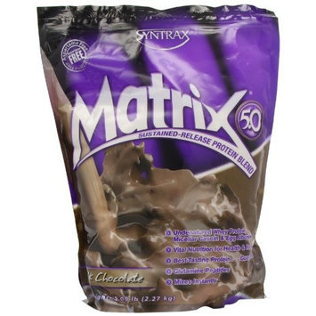 Syntrax Matrix 5, Milk Chocolate Powder, 5 Pounds