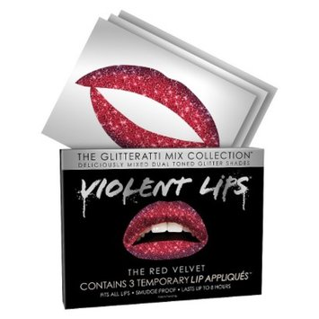 Violent Lips - The Red Velvet Glitteratti Mix - Red