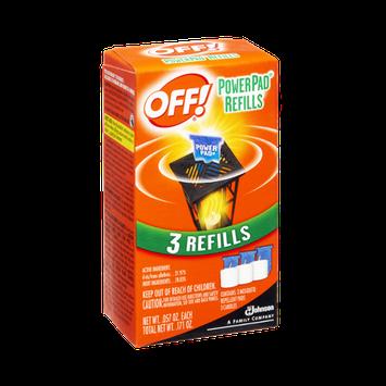 OFF! Power Pad Refills - 3 CT