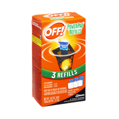OFF! Power Pad Mosquito Lamp Refill