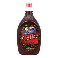 H. Fox Co Fox's U-Bet Coffee Flavored Syrup - 20 oz. Squeeze Bottle
