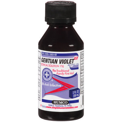 Humco Holding Group Gentian Violet 1% liquid