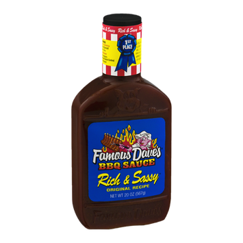 Famous Dave's Rich & Sassy BBQ Sauce Original Recipe
