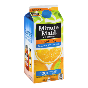 Minute Maid Premium 100% Orange Juice Original Calcium & Vitamin D