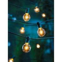 Room Essentials Clear Globe String Lights (25 Bulbs)