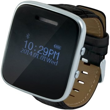 Accellorize Bluetooth SmartWatch with Leather Band