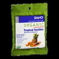 Zand Organic Herbalozenge Tropical Soother with Zinc & Vitamin C - 18 CT
