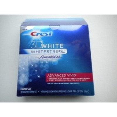 Crest 3D White Advanced Vivid Whitestrips, 21 Count Box