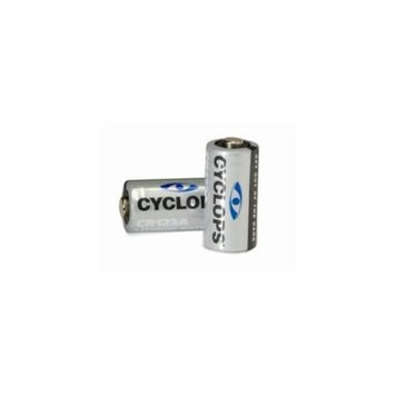 GSM CYC-CR123A Replacement Lithium Batteries, 2-Pack