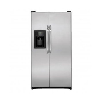 GE 21.9 Cu Ft Stainless Steel Side-By-Side Refrigerator