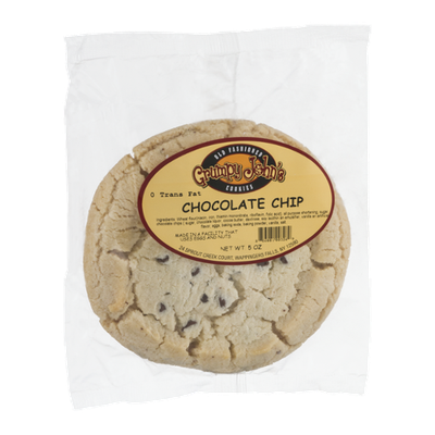Grumpy John's Cookies Chocolate Chip