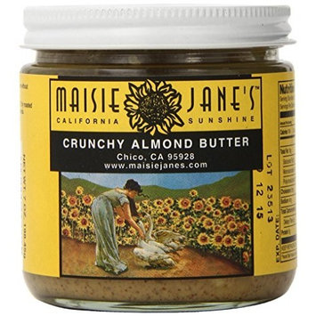 Maisie Jane's Almond, Butter Crunchy, 7 Ounce (Pack of 6)