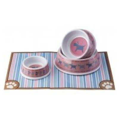 Ethical Dog Ethical Pet Products (Spot) CSO6859 Kitty Love Melamine No-Tip Dish, 5-Inch, Pink